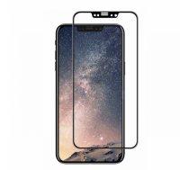 SWISSTEN - Swissten Ultra Durable 3D Japanese Tempered Glass Premium 9H Aizsargstikls Apple iPhone X / XS Melns - SW-JAP-T-3D-IPHX-BK