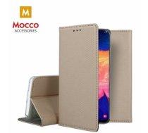 MOCCO - Mocco Smart Magnet Book Case Grāmatveida Maks Telefonam LG K40S Zeltains - MC-MAG-K40S-GO