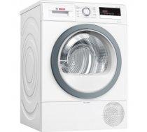 Bosch Dryer mashine WTR85VS8SN Condensed, Sensitive dry, 8 kg, Energy efficiency class A++, Self-cleaning, White, LED, Depth 60 cm, WTR85VS8SN