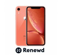 Mobilais Telefons MOBILE PHONE IPHONE XR 64GB/CORAL RND-P11464 APPLE RENEWD RND-P11464