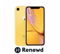 Mobilais Telefons MOBILE PHONE IPHONE XR 64GB/YELLOW RND-P11364 APPLE RENEWD RND-P11364