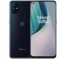 "Mobilais Telefons OnePlus Nord N10 5G Midnight Ice, 6.49 "", IPS LCD, 1080 x 2240 pixels, Qualcomm SM6350 Snapdragon 690, Internal RAM 6 GB, 128 GB, Dual SIM, Nano-SIM, 3G, 4G, 5G, Main camera 64+8+2+2 MP, Secondary camera 16 MP, Android, 10.0, 4300 mAh No"