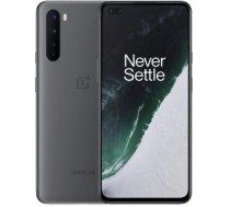 "Mobilais Telefons OnePlus Nord 5G Gray, 6.44 "", Fluid AMOLED, 1080 x 2240 pixels, Qualcomm SM7250, Snapdragon 765G, Internal RAM 8 GB, 128 GB, Dual SIM, Nano-SIM, 3G, 4G, 5G, Main camera 48+8+5+2 MP, Secondary camera 32+8 MP, Android, 10.0, 4115 mAh OnePl"