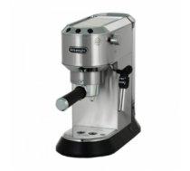 DELONGHI EC685.M espresso, cappuccino machine metallic, damaged package EC685.M?/PACKAGE EC685.M?/PACKAGE