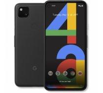 "Mobilais Telefons google Pixel 4a G025N Just Black, 5.81 "", OLED, 1080 x 2340 pixels, Qualcomm Snapdragon 730, Internal RAM 6 GB, 128 GB, Single SIM, Nano-SIM card and eSIM, 3G, 4G, Main camera 12.2 MP, Secondary camera 8 MP, Android, 10, 3140 mAh MPHP00"