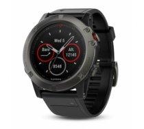 Garmin Fenix 5X Sapphire sporta pulkstenis Melns, Pelēks 240 x 240 pikseļi Bluetooth