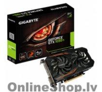 GIGA-BYTE NVIDIA, 4 GB, GeForce GTX 1050 Ti, GDDR5, PCI Express 3.0, Processor frequency 1341 MHz, DVI-D ports quantity 1, HDMI ports quantity 1, Memory clock speed 7008 MHz