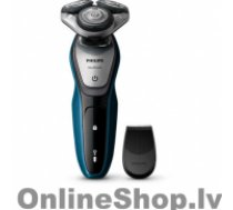 PHILIPS AquaTouch wet and dry electric shaver Warranty 24 month(s), Rechargeable, Charging time 1 h, Lithium-Ion (Li-Ion), Battery life 45 min / 15 shaves h, Number of shaver heads/blades 3, Black, Blue, Silver