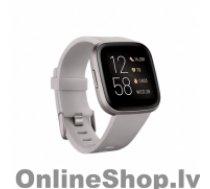 FITBIT Versa 2 (NFC) Smartwatch, Stone/Mist Grey Aluminum