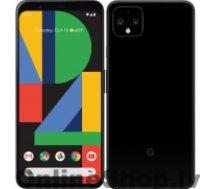 "GOOGLE Pixel 4 XL Black, 6.3 "", P-OLED, 1440 x 3040 pixels, Qualcomm SM8150 Snapdragon 855, Internal RAM 6 GB, 64 GB, Single SIM, Nano-SIM card and eSIM, 4G, Main camera 12.2+16 MP, Secondary camera 8 MP, Android, 10, 3700 mAh"