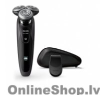 PHILIPS Shaver S9031/12 Wet use, Rechargeable, Charging time 1 h, Lithium-ion, Battery, Number of shaver heads/blades 8-direction ContourDetectHeads, Black