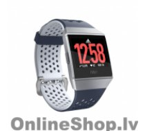 FITBIT Smart watches Ionic Adidas edition Navy/White, 24/7, Touchscreen, Bluetooth, Heart rate monitor, GPS (satellite), Waterproof