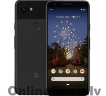 "GOOGLE Pixel 3a Black, 5.6 "", OLED, 1080 x 2220 pixels, Internal RAM 4 GB, 64 GB, microSD, Single SIM, Nano-SIM, 3G, 4G, Main camera 12.2 MP, Secondary camera 8 MP, Android, 9.0, 3000 mAh"