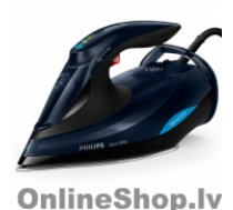 PHILIPS Azur Elite GC5036/20 Black, 3000 W, Steam iron, Continuous steam 70 g/min, Steam boost performance 260 g/min, Auto power off, Anti-drip function, Anti-scale system, Vertical steam function, Water tank capacity 350 ml