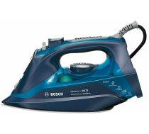 BOSCH Iron TDA703021A Blue, 3200 W, With cord, Continuous steam 50 g/min, Steam boost performance 200 g/min, Anti-drip function, Anti-scale system, Vertical steam function, Water tank capacity 380 ml