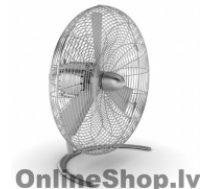 STADLER FORM CHARLY C050E Floor Fan, Number of speeds 3, 60 W, Oscillation, Diameter 45 cm, Stainless steel
