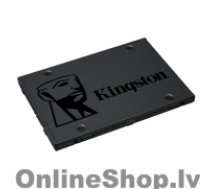 """KINGSTON A400  480 GB, SSD form factor 2.5"""", SSD interface SATA, Write speed 450 MB/s, Read speed 500 MB/s"""
