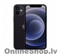 "APPLE iPhone 12 mini Black, 5.4 "", XDR OLED, 2340 x 1080 pixels, A14 Bionic, Internal RAM 4 GB, 128 GB, Single SIM, Nano-SIM and eSIM, 3G, 4G, 5G, Main camera Dual 12+12 MP, Secondary camera 12 MP, iOS, 14, 2227 mAh"