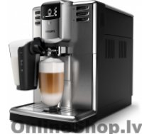 PHILIPS Espresso Coffee maker EP5335/10 Built-in milk frother, Fully automatic, Stainless steel / black