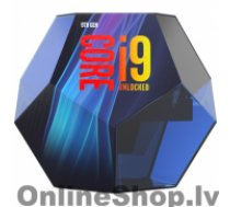 INTEL i9-9900K, 3.6 GHz, LGA1151, Processor threads 16, Packing Retail, Processor cores 8, Component for PC