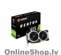 MSI GeForce RTX 2060 VENTUS XS 6G OC NVIDIA, 6 GB, GeForce RTX 2060, GDDR6, PCI Express x16 3.0, HDMI ports quantity 1, Memory clock speed 14000 MHz, Processor frequency 1710 MHz, 3
