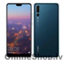 "HUAWEI P20 Pro Blue, 6.1 "", AMOLED, 1080 x 2240 pixels, HiSilicon Kirin, 970, Internal RAM 6 GB, 128 GB, Dual SIM, Nano-SIM, 3G, 4G, Main camera Triple 40+20+8 MP, Secondary camera 24 MP, Android, 8.1, 4000 mAh"