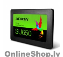 """ADATA Ultimate SU650 3D NAND SSD 960 GB, SSD form factor 2.5"""", SSD interface SATA, Write speed 450 MB/s, Read speed 520 MB/s"""