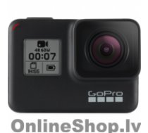 GOPRO Hero7 2 year(s), Wi-Fi, Touchscreen, Bluetooth, Full HD, Black, Built-in display, Built-in microphone, Waterproof