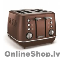 MORPHY RICHARDS Evoke Toaster  240101 Power 1800 W, Number of slots 4, Housing material Stainless steel, Bronze