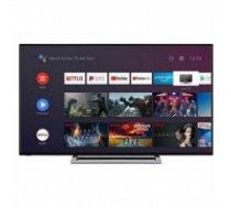 "Viedais TV Toshiba 50UA3A63DG 50"" 4K Ultra HD DLED WiFi Melns"