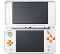New Nintendo 2DS XL balts oranžs