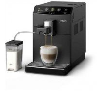 Philips 3000 series Super-automatic Espresso machine HD8829/09  Built-in milk frother, Super-automatic, 1850 W, Black
