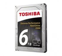 Toshiba X300 6TB 7200 RPM, 6000 GB, 3.5 inch, HDD, 128 MB