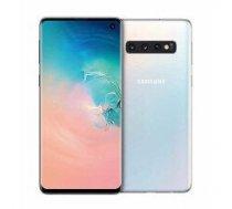 "Samsung Galaxy S10 Dual SIM Prism White 6.1"" Dynamic AMOLED 1440x3040/2.73GHz&2.31GHz/128GB/8GB RAM/Android 9.0/microSD/WiFi///"