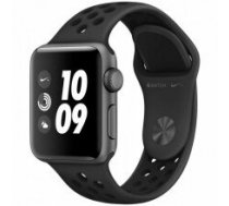 Apple Watch Nike+ Series 3 GPS, 38mm Space Grey Aluminium Case with Anthracite/Black Nike Sport Band, Model A1858
