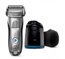 Braun 7899cc  Wet use, Rechargeable, Charging time 1  h, Network / battery, Number of shaver heads/blades 3, Silver/ black