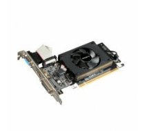 Gigabyte GV-N710D3-2GL NVIDIA, 2 GB, GeForce GT 710, DDR3-SDRAM, PCI Express 2.0, Cooling type Active, HDMI ports quantity 1, Memory clock speed 1800 MHz, DVI-D ports quantity 1, VGA (D-Sub) ports quantity 1, Processor frequency 954 MHz