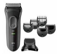 Braun 3000BT beard trimmer Wet & Dry Grey