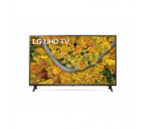 "LG 50UP75003LF  50"" (127 cm), Smart TV, WebOS, 4K UHD, 3840 x 2160, Wi-Fi, DVB-T/T2/C/S/S2, Black"