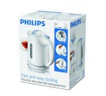 Philips HD4646/00 Standard kettle, Plastic, White, 2400 W, 360° rotational base, 1.5 L