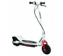 Razor e200 Electric Scooter, White/Red