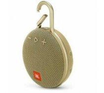 Portable Speaker|JBL|CLIP 3|Portable/Waterproof/Wireless|1xAudio-In|1xMicro-USB|Bluetooth|Sand|JBLCLIP3SAND
