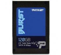 """SSD   PATRIOT   120GB   Write speed 540 MBytes/sec   Read speed 560 MBytes/sec   2,5""""   MTBF 2000000 hours   PBU120GS25SSDR"""