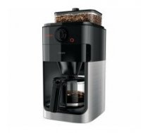 Philips Coffee maker Grind & Brew HD7767/00 Drip, 1000 W, Black/Metal
