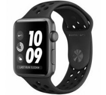 AppleWatch Nike+ Series 3 GPS. 42mm Space Grey Aluminium Case with Anthracite/Black Nike Sport Band. Model A1859