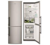 Electrolux EN3613MOX ledusskapis ar saldētavu apakšā, 185cm, nerūs.tēr. EN3613MOX