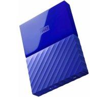 "Western Digital HDD External WD My Passport (2.5"", 3TB, USB 3.0) Blue WDBYFT0030BBL-WESN"