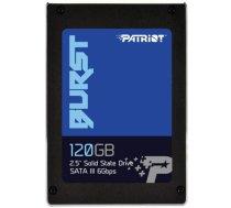 "SSD SATA2.5"" 120GB/BURST PBU120GS25SSDR PATRIOT PBU120GS25SSDR"