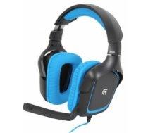 Austiņas ar mikrofonu Logitech G430 Gaming