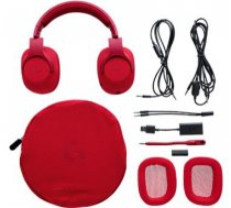 HEADSET GAMING G433 WRL/RED 981-000652 LOGITECH 981-000652